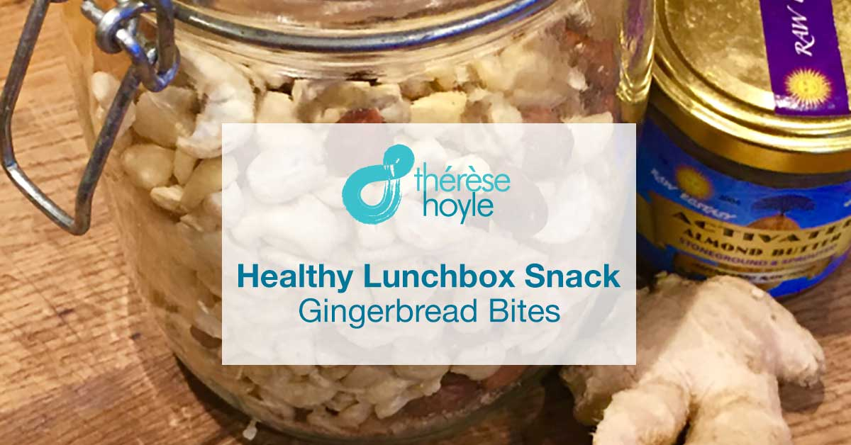 Healthy Lunchbox Snack: Gingerbread Bites