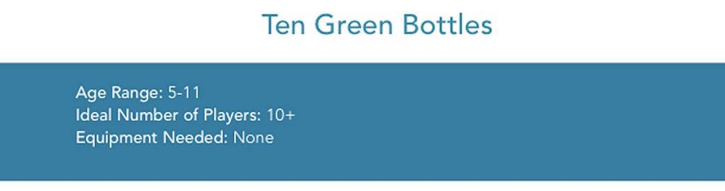 Game of the Week #18:  Ten Green Bottles