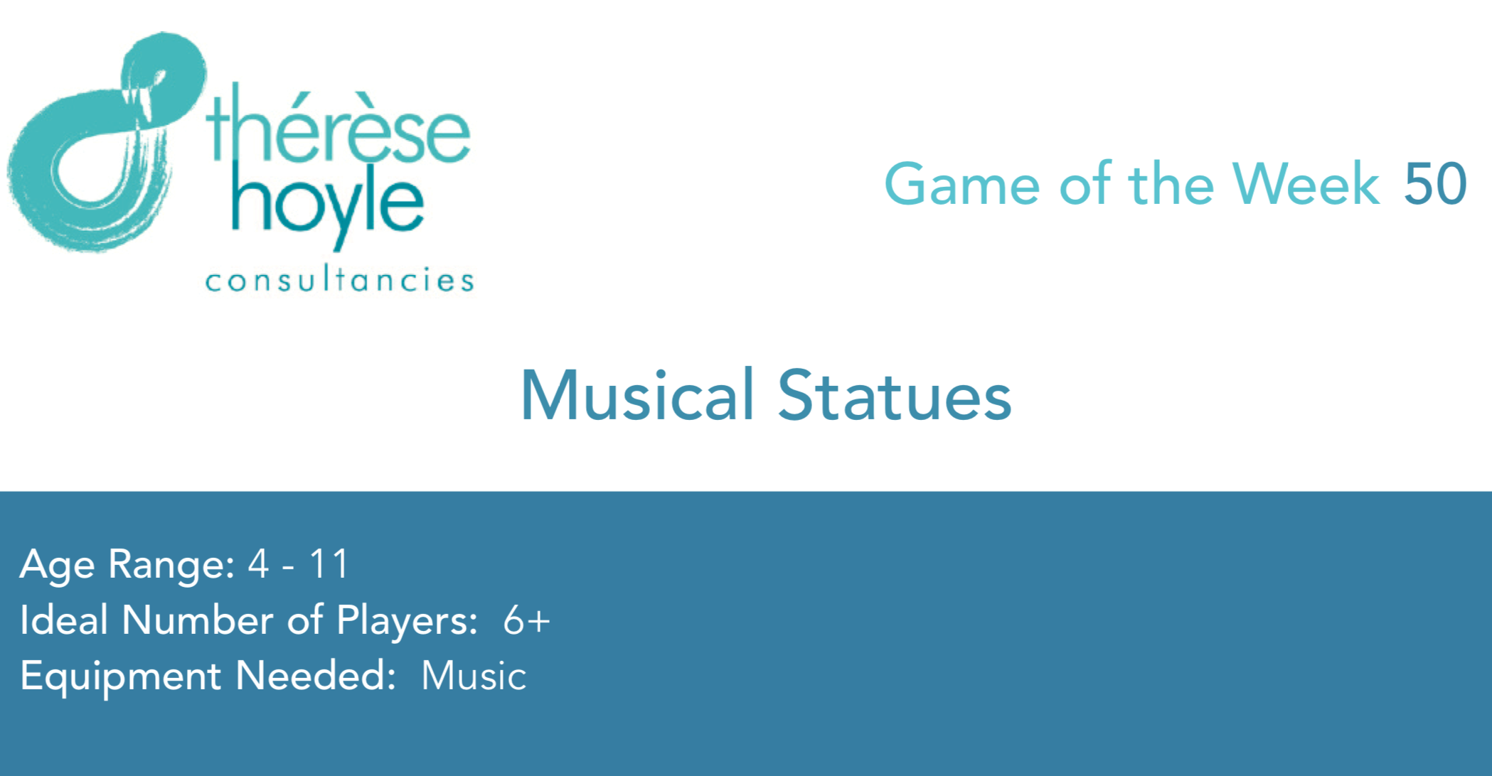 Ga,e of the Week #50 Musical Statues
