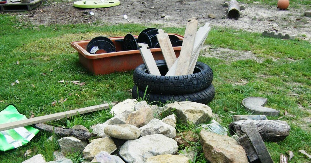 Learning and Play – with Loose Parts- Outdoors by Felicity Robinson