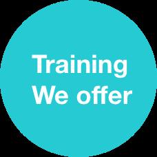 Training we offer