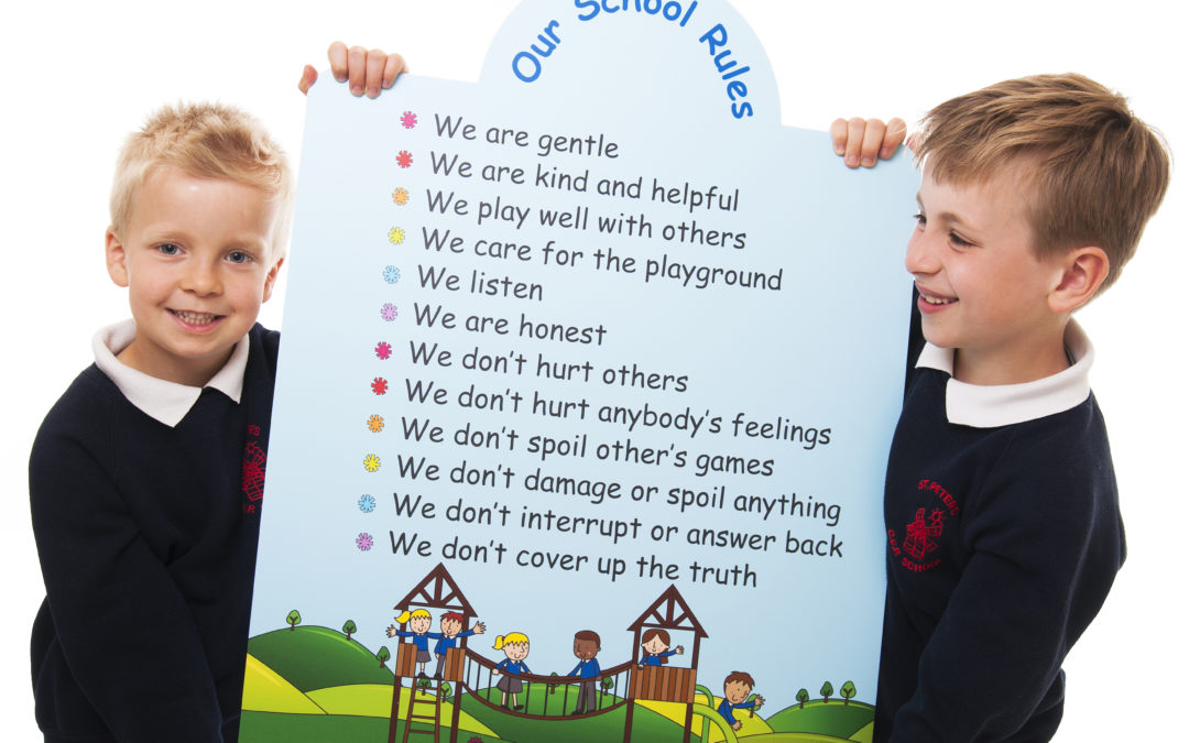 Top Tips for Creating School Rules