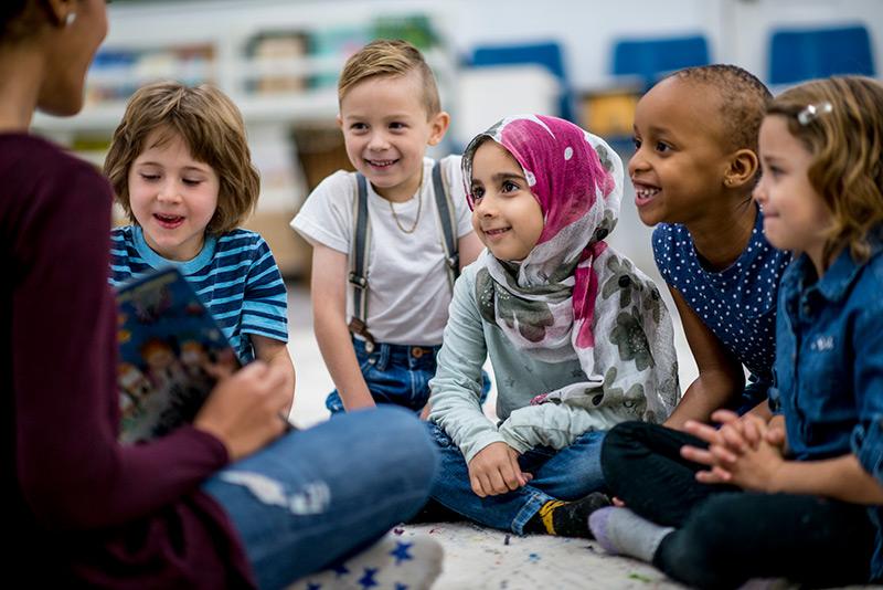 Flourishing Schools children with Therese
