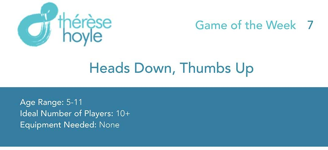 Game of the Week #8:  Heads Down, Thumbs Up