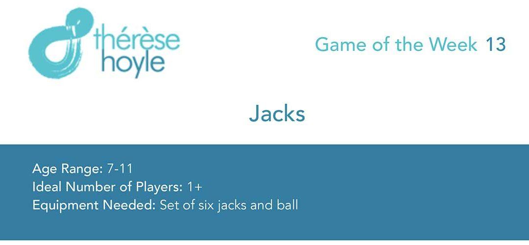 Game of the Week #13:  Jacks