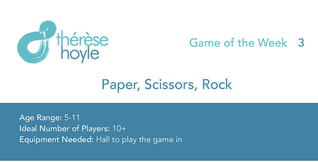 Game of the Week #3:  Paper, Scissors, Rock